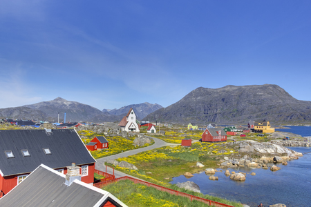 landscape in the south of greenland
