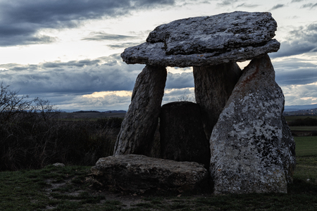 dolmen in the basque country