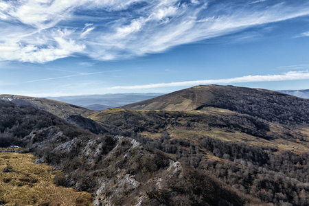 landscape in the mountains of basque country Stock Photo - 123927771