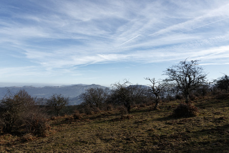 landscape in the mounts of bizkaia Stock Photo - 123927814