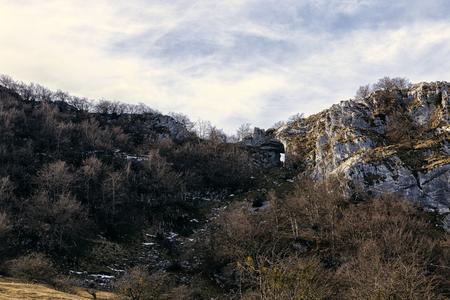 landscape in the mounts of bizkaia Stock Photo