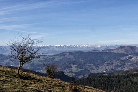 landscape of the basque country Stock Photo - 123927956