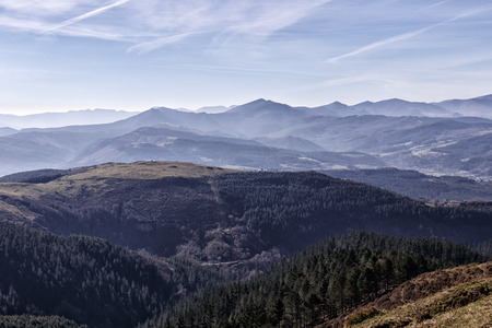 landscape of the basque country