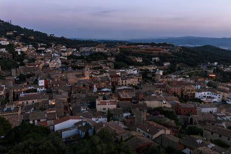 town of begur in the coast Reklamní fotografie