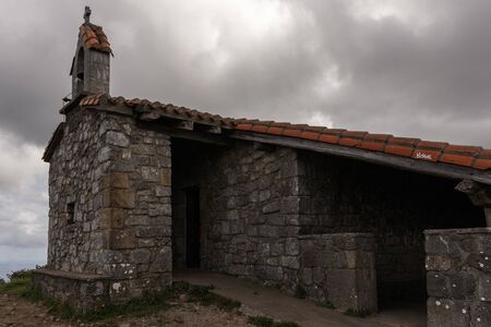 little hermitage in the north of spain