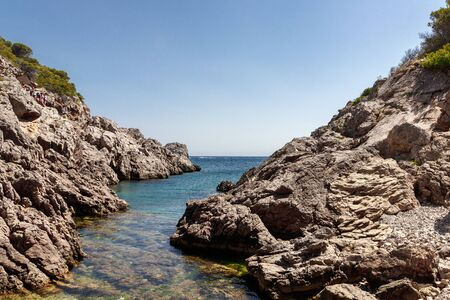 landscape in the coast in the north of spain Stock Photo