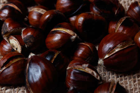 chestnuts in a cook in spain