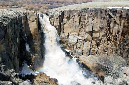 South Clear Creek Falls with Spring Runoff