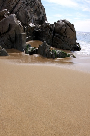 Ocean side rock formation Cabo San Lucas, Mexico Stock Photo - 12555660