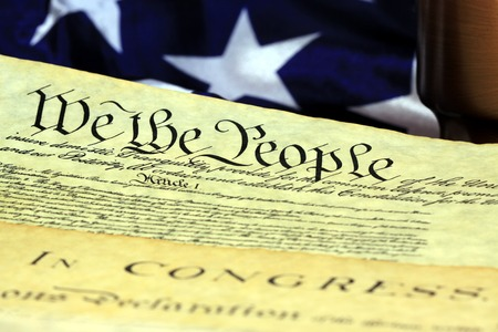 preamble: Constitution of United States Historical Document - We The People Bill of Rights