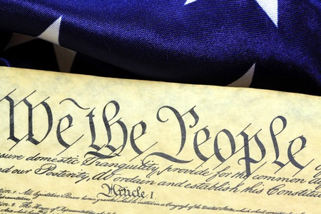 Preamble to the Constitution of the United States of America photo