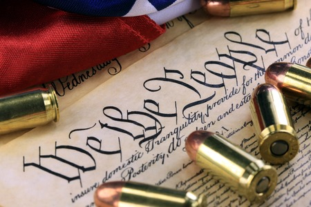 casings: Ammunition on US Constitution - The Right to Bear Arms