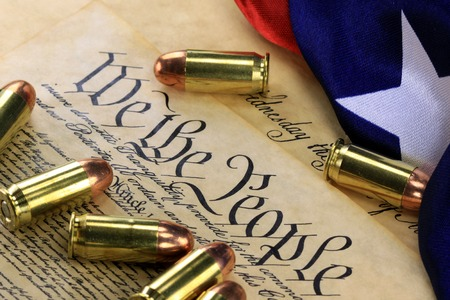 Ammunition on US Constitution  The Right to Bear Arms photo
