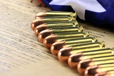 constituci�n pol�tica: Municiones de Estados Unidos Constituci�n El derecho a portar armas
