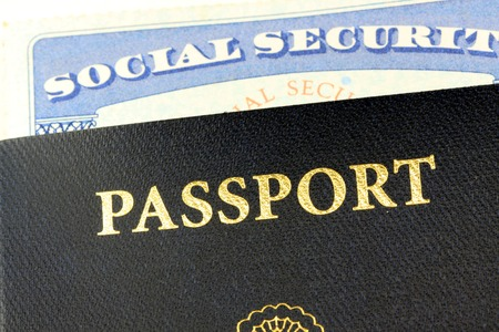 Social security card and United States passport