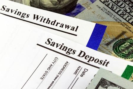 Bedrijfsinkomsten banking overschrijvingsformulier - Financiën en boekhouding concept Stockfoto - 73337480