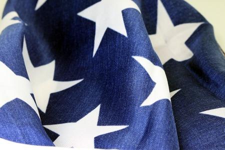 US flag as patriotic background