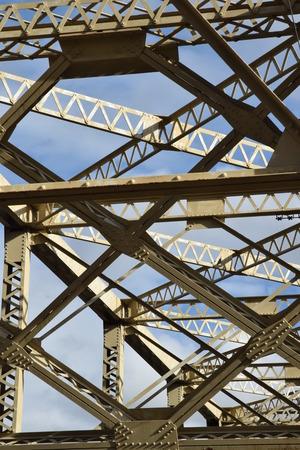 Bridge over Columbia river at Coulee Dam.