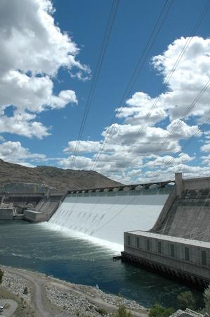 그랜드 쿨리 댐 방수 실행입니다.