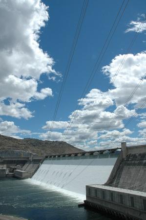 그랜드 쿨리 댐 방수.