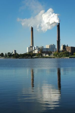 Power Plant, Lakefront Stock Photo - 1298307