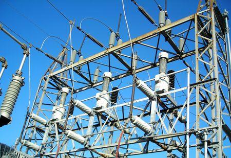 blackout: Onderstation Lattice, 69kV Line Tik