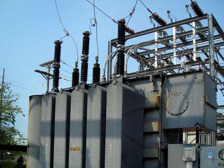 blackout: Power Transformer, distributie Onderstation