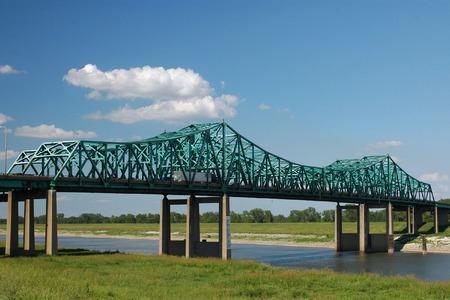 superstructure: Interstate highway Bridge near St. Louis