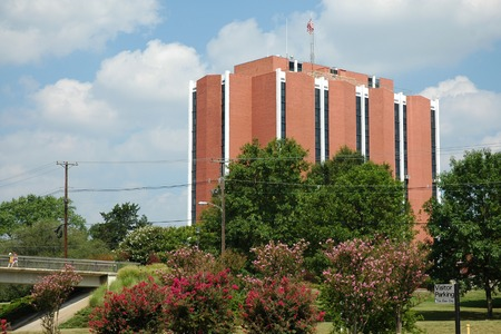 Elizabeth Hall, Murray State University, one of the residential colleges at the university in Western Kentucky Stock Photo