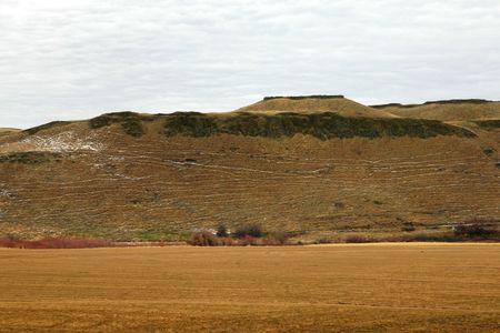 channeled: Hillside, Channeled Scablands, SE Washington State