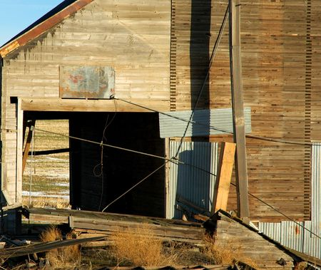 Old Grain Tower, in the Inland Northwest