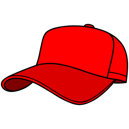 Baseball Cap Stock Vector - 57052586