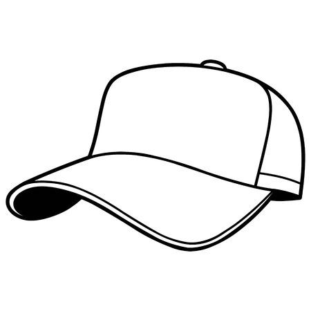 Baseball Cap Illustration Stock Vector - 57052587