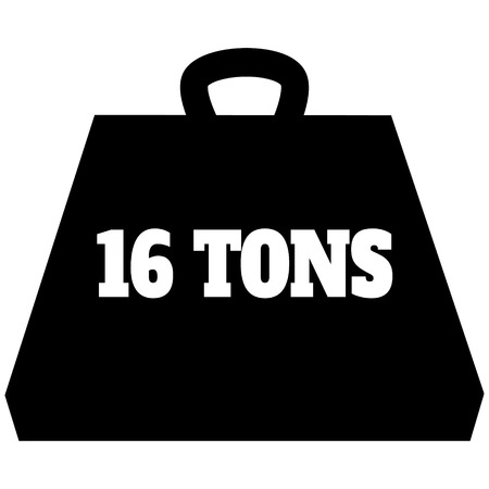 16 Ton Weight Icon