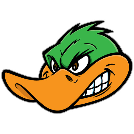 duck green: Angry Duck