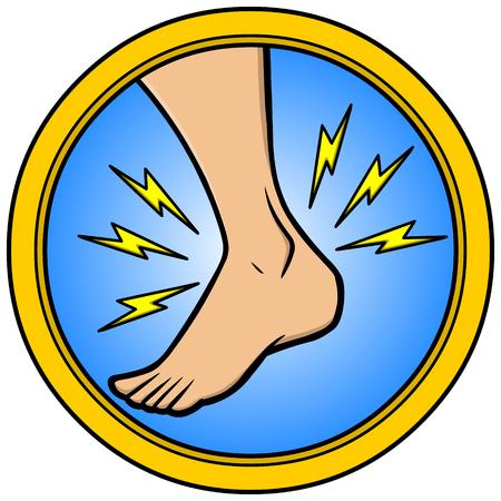 足首の怪我 写真素材 - 57052617