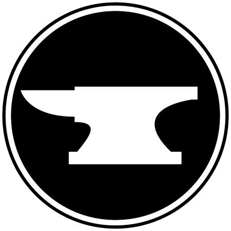 Anvil Symbol Stockfoto - 57052623