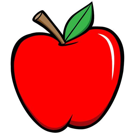 steam of a leaf: Apple