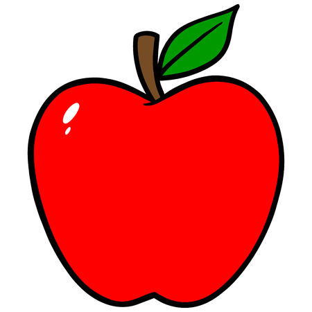 steam of a leaf: Apple Icon