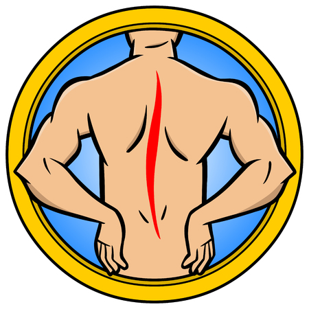 back injury: Back Injury