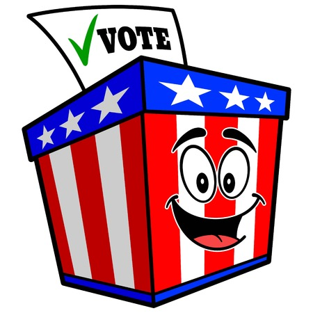 投票箱のマスコット