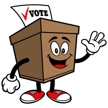 secrecy of voting: Ballot Box Waving