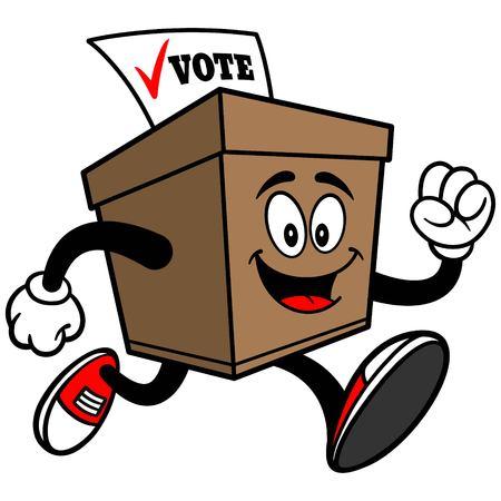 secrecy of voting: Ballot Box Running