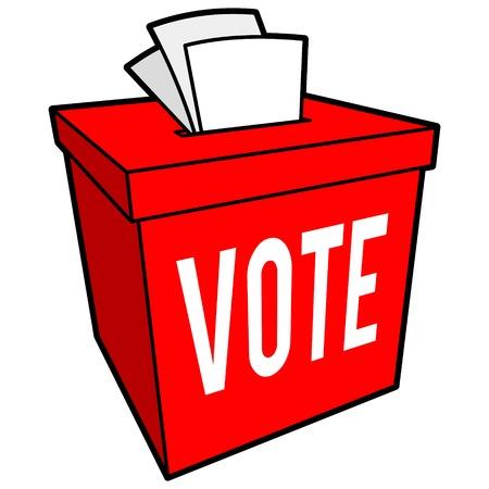 secrecy of voting: Ballot Box Symbol