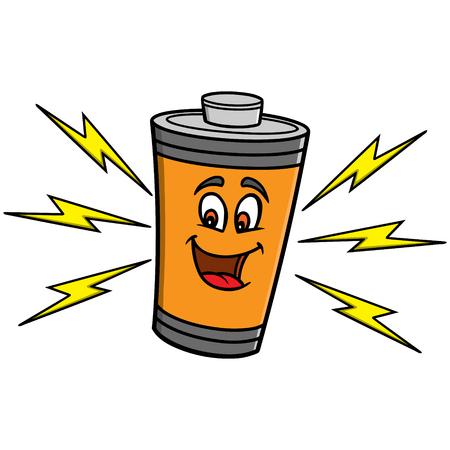 alternating current: Battery Mascot