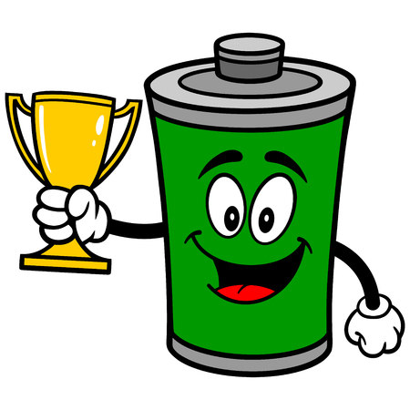 Battery with Trophy