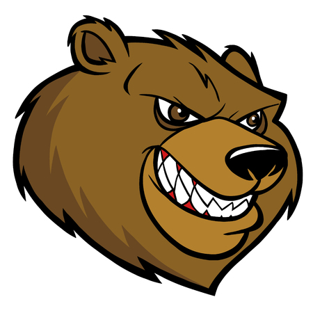 kodiak: Bear Mascot Head