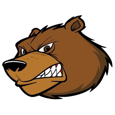 Bear Mascotte van het Team