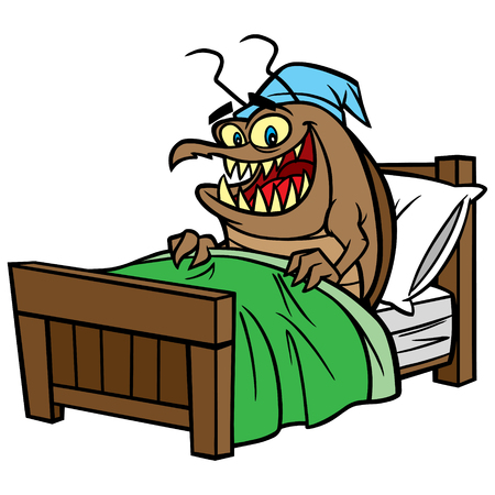 Bed Bug in Bed