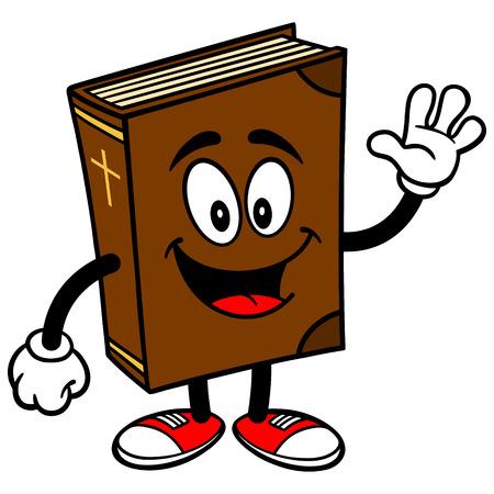 catholicism: Bible School Mascot Waving